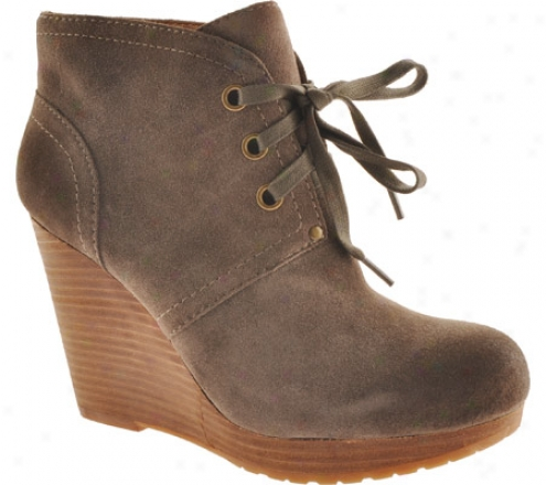Lucky Brand Norice (women's) - Iron Suede