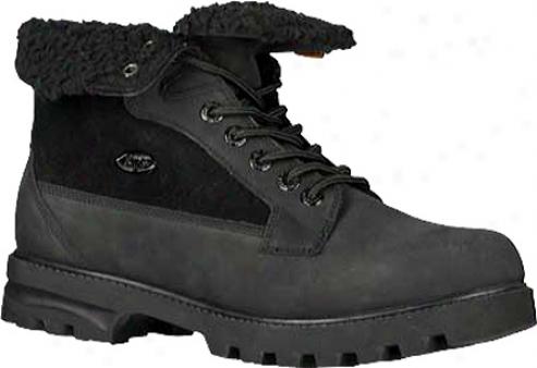 Lugz Brigade Fold (men's) - Black Leather