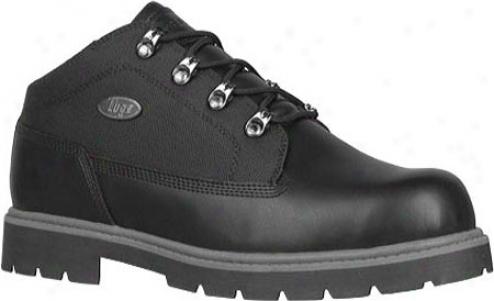 Lugz Camp Craft Sr (men's) - Blaco/charcoal Leather