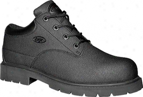 Lugz Drifter Look Scuff Demonstration Sr (men's) - Black Leather