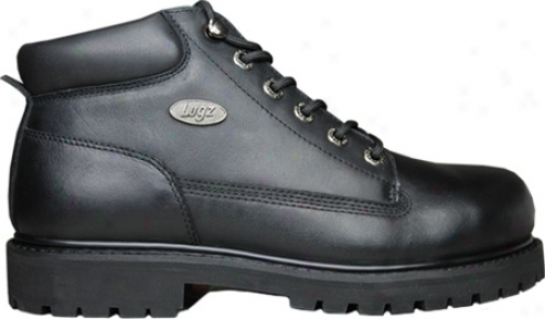 Lugz Drifter Steel Toe (me's) - Black Leather