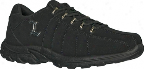 Lugz Notts (men's) - Black Durabrush