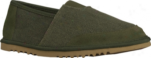 Lugz Root (men's) - Fern Green/gum Canvas