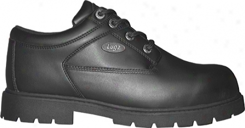 Lugz Savoy Sr (men's) - Black Leather