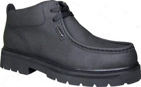 Lugz Strutt Scuff Proof (men's) - Black Leather