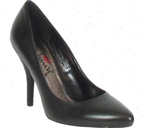 Luichiny Fan (women's) - Black Leather