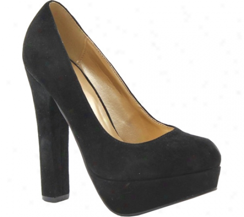 Luichiny Lights Lacking (women's) - Black Suede