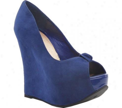 Luichiny Night Cap (women's) - Blue Suede