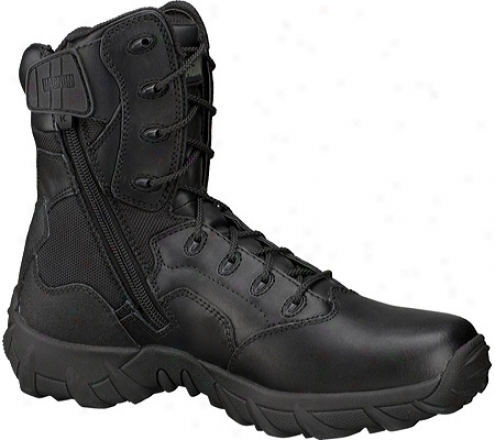 Magnum Cobra 8.0 Side-zipper Hpi (men's) - Black Leather/nylon