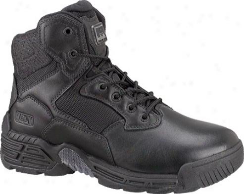 Magnum Stealth Force 6.0 Wp (men's) - Black Full Grain Leather