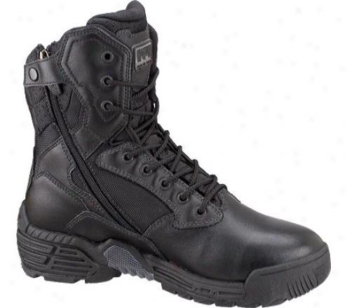 Magnum Stealth Force 8.0 Sz (men's) - Black Full Grain Leather