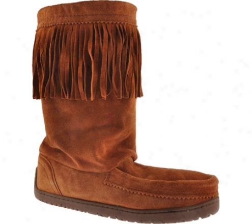 Manitobah Mukluks Dancsr (men's) - Copper Cowhide Suede