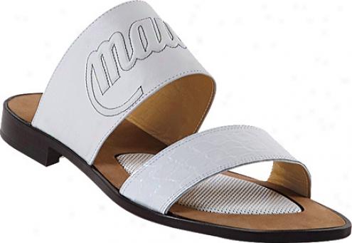 Mauri 1435 (men's) - White Alligator/calf