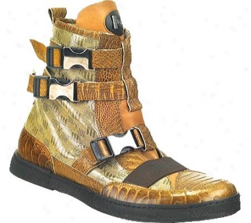 Mauri 8832 (men's) - Corn Ostrich Leg/fabric/calf