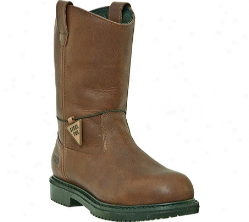 """""""mcrae Industrial 10"""""""" Insulated Steel Toe Oil Field Wellington Mr854 (nen's) - Brown Tumbled Leather"""""""