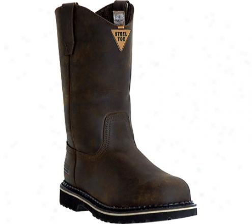 """mcrae Industrial 11"""" Preservation Toe Wellington Mr85344 (men's) - Dark Brown"""