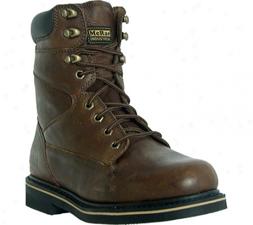 """""""mcrae Industrial 8"""""""" Lacer Mr88122 (men's) - Peanut Brown Tumbled Leather"""""""