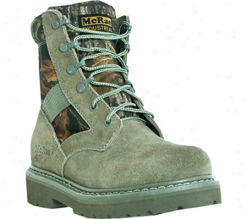 Mcrae Industrial Military Lace Up Mr13108 (boys') - Green Camo