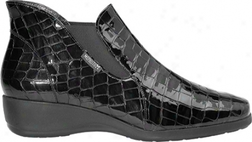 Mephisto Ceren (women's) - Black Crocsoft