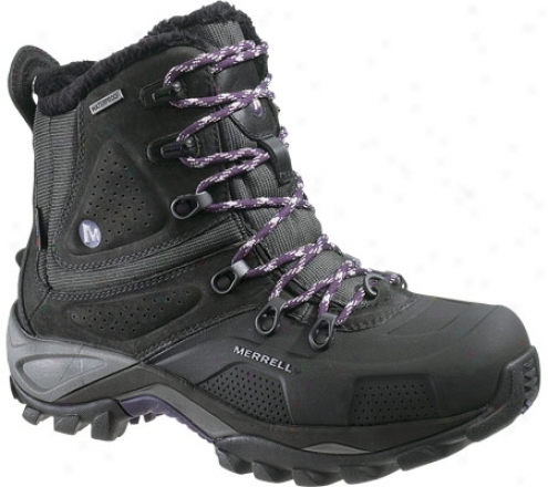 Merrell Whiteout 8 Waterproof (women's) - Black/purple