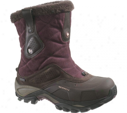 Merrell Whiteout Mid Wzterproof (women's) - Huckleberry
