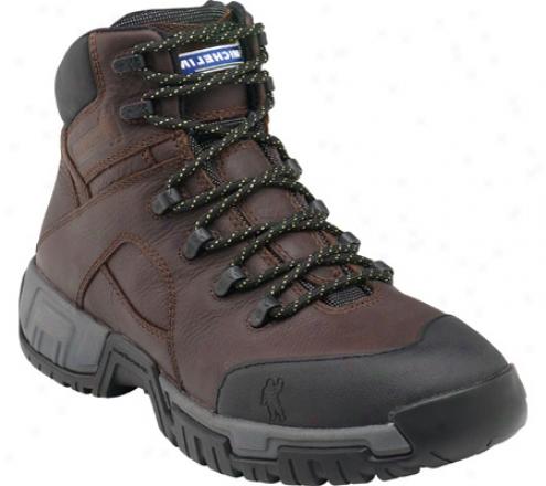 Michelin Hydroedge Xhy662 (men's) - Dark Tan Leather