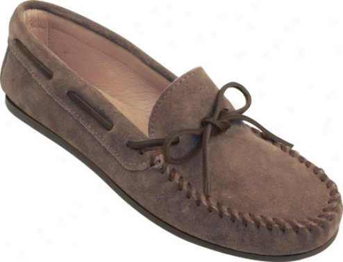 Minnetonka Classic Moc (men's) - Dusty Brown Siede