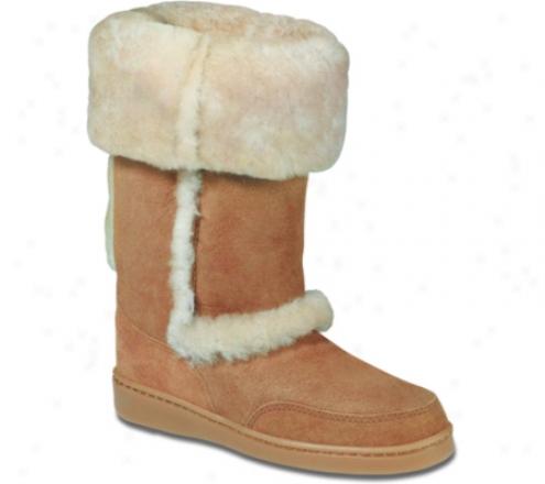 Minnetonka Genuine Sheepskin Cuff Boot (women's)