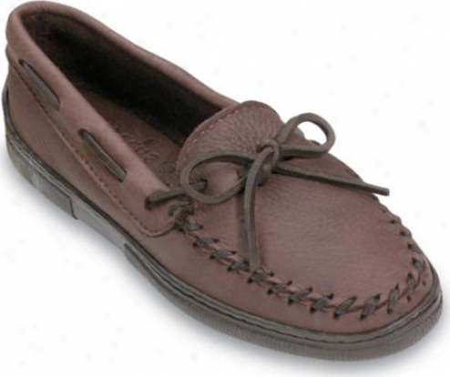 Minnetonka Straiht Plug w(omen's) - Dark Brown