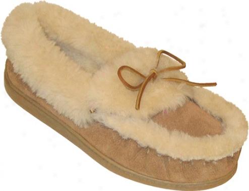 Minnetonka Ultimate Sheepskin Slipper (women's) - Tan