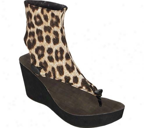Modzori Luna High (women's) - Leopard Print/black