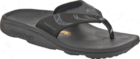 Montrail Molokai (men's) - Black/gril1