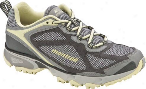 Montrail Sabino Trail (women's) - Cool Grey/lemon Mist