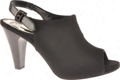 Mootsies Tootsies Lainey (women's) - Black/black Fabric