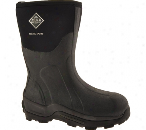 Muck Boots Arctlc pSort Mid Extreme-conditions Profit Asm-000a - Black