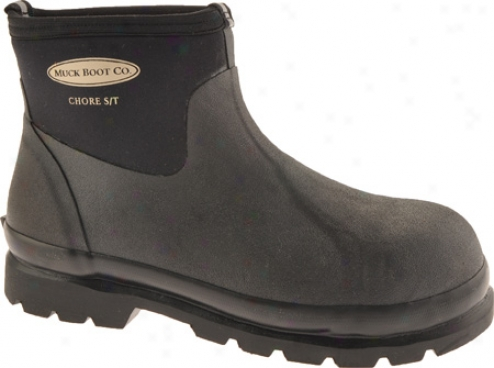 Muck Boots Chore Low Steel-toe Work Boot Cls-000a - Black
