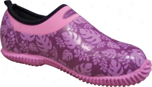 Muck Boots Daily Lawn & Garden Shoe Dly-479l (women's) - Wineberry Palm