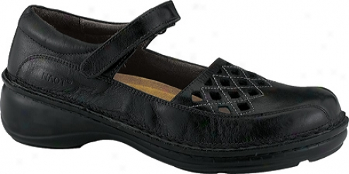 Naot Bramble (women's) - Midnight Black Leather