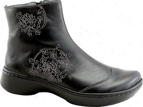 Naot Cruise (women's) - Midnight Blacl Leather