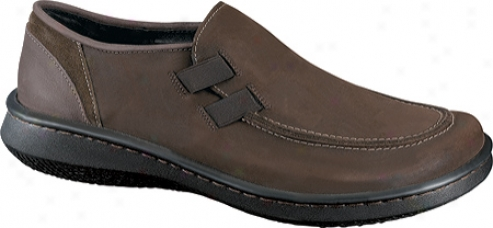 Naot Fossil (men's) - Oiyl Brown Nubuck/truffle Leather/cocoa Suede