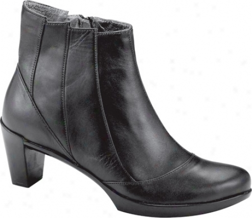 Naot Gema (women's) - Black Raven Leather