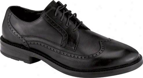 Naot Noble (men's) - Black Madras Leather