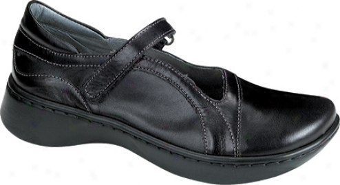 Naot Minke (women's) - Midnight Black Leather