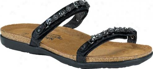 Naot Mona (womeen's) - Black Gloss Leather