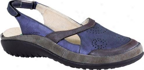 Naot Tamariki (women's) - Soft Violet Leathr/mulberry Leather/smoke Leather