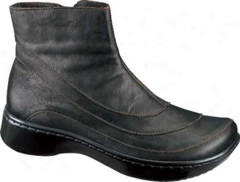 Naot Tellin (women's) - Black Pearl Leather