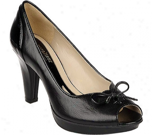 Naturalizer Alarm (women's) - Black Fellini Leatheer/shiny