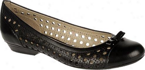 Naturalizer Diara (women's) - Black Atanado Vegetable Leather/pu