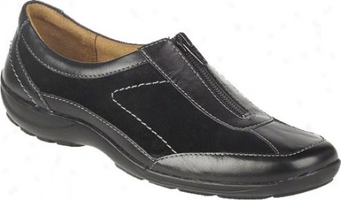 Naturzlizer Farida (women's) - Black Mirage Leather/suefe