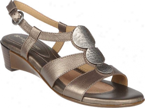 Naturalizer Javas 47200 (women's) - Nickel Alloy Metallic Goat Leather
